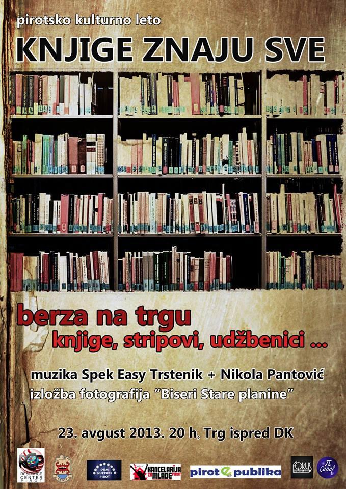 knjige znaju sve plakat
