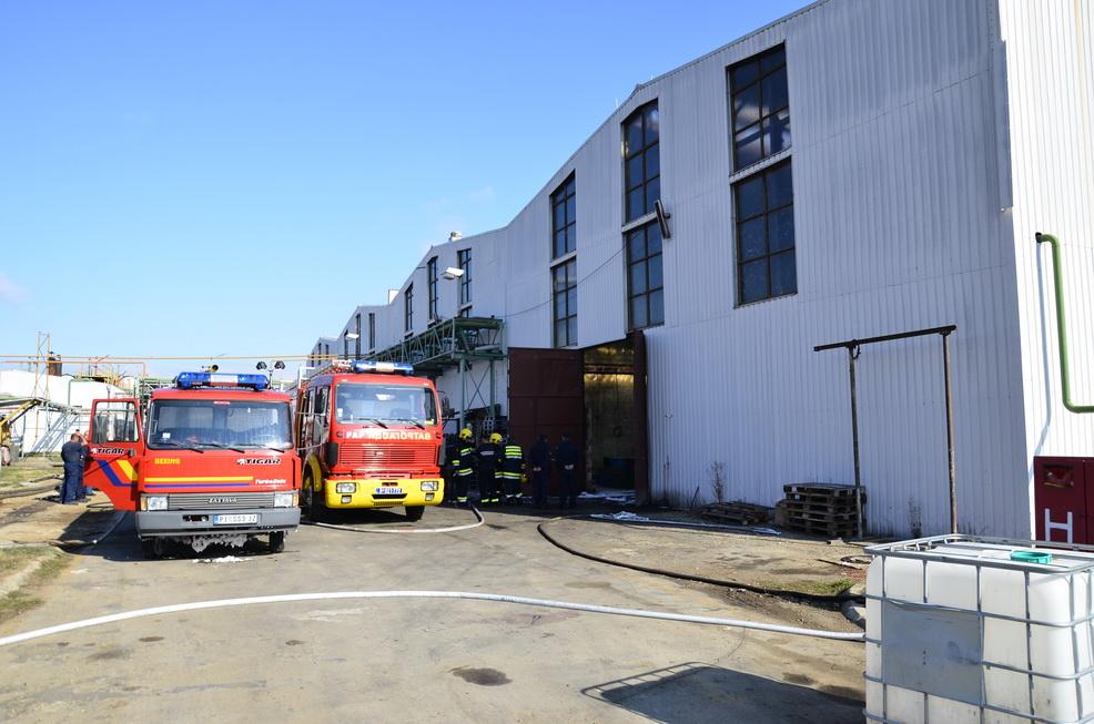 Photo of Dva radnika lakše povređena u eksploziji u fabrici hemijskih proizvoda