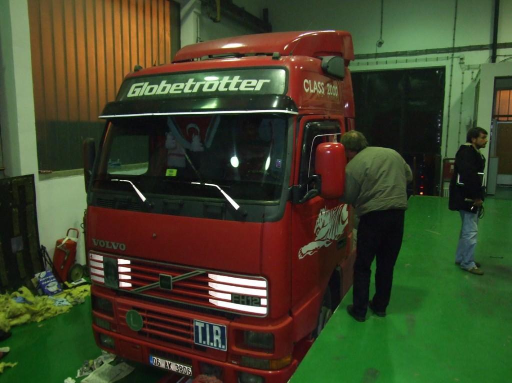kamion u kome je pronadjena droga