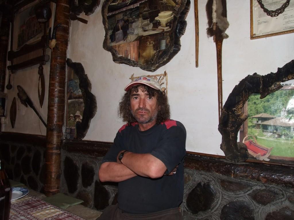 petar bekov u svojoj kuci