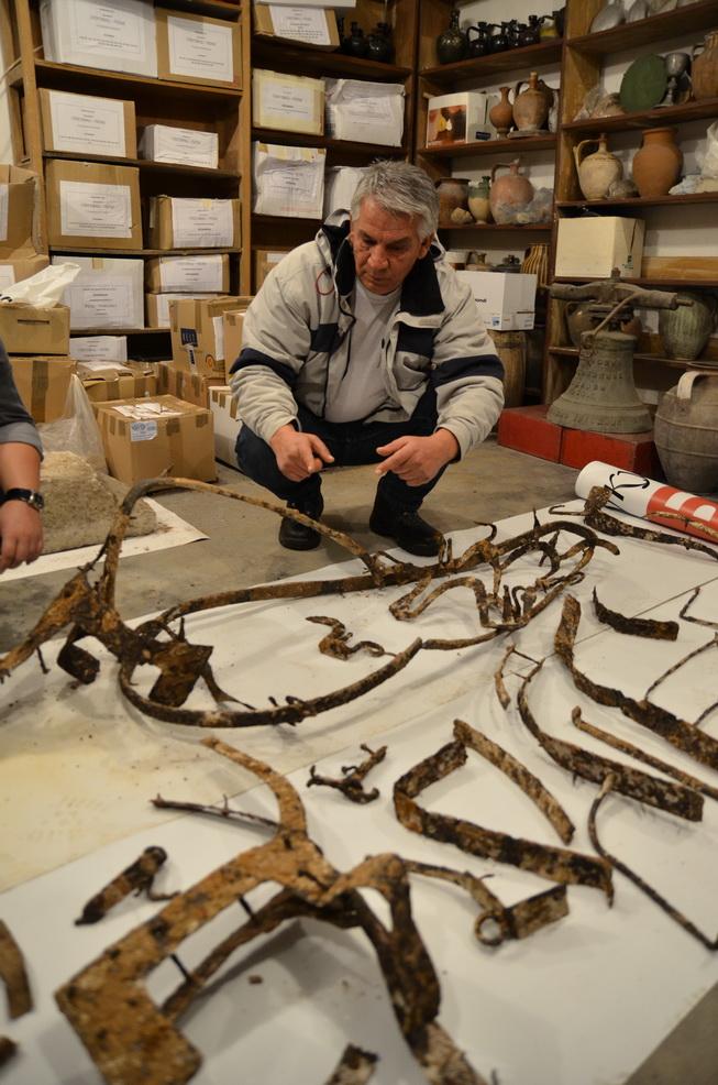 Photo of Pronađena bojna dvokolica stara između tri i četiri hiljada godina