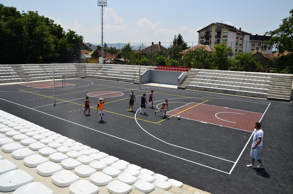 jedan od terena na omladinskom stadionu
