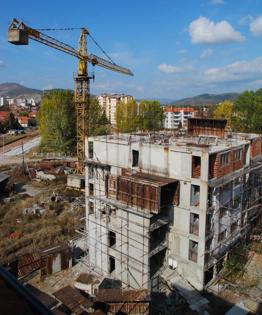 jedna od zgrada koju je radio progres