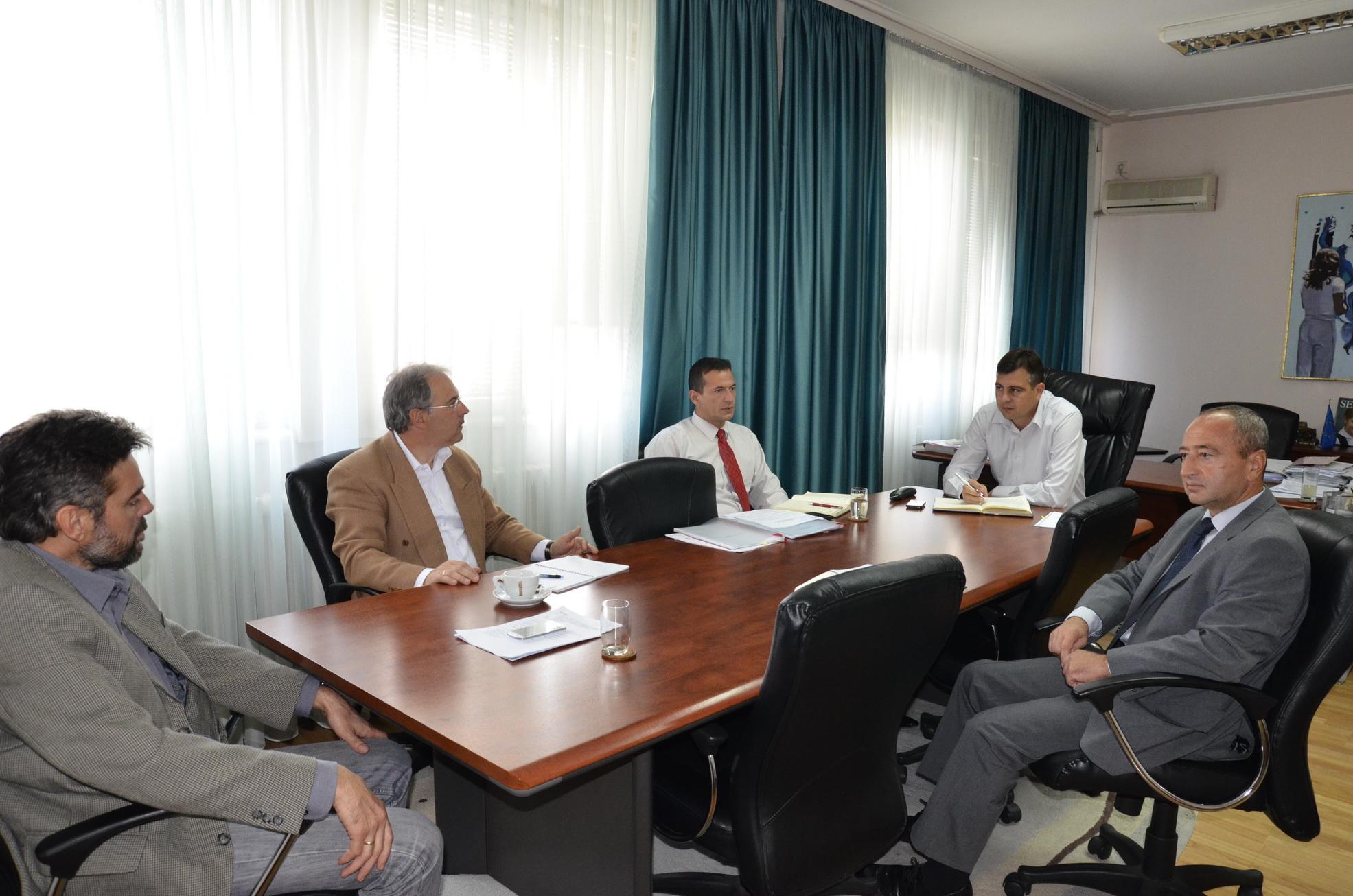 """Photo of Novoizabrani direktori javnih preduzeća na prvom """"brifingu"""" kod predsednika opštine"""