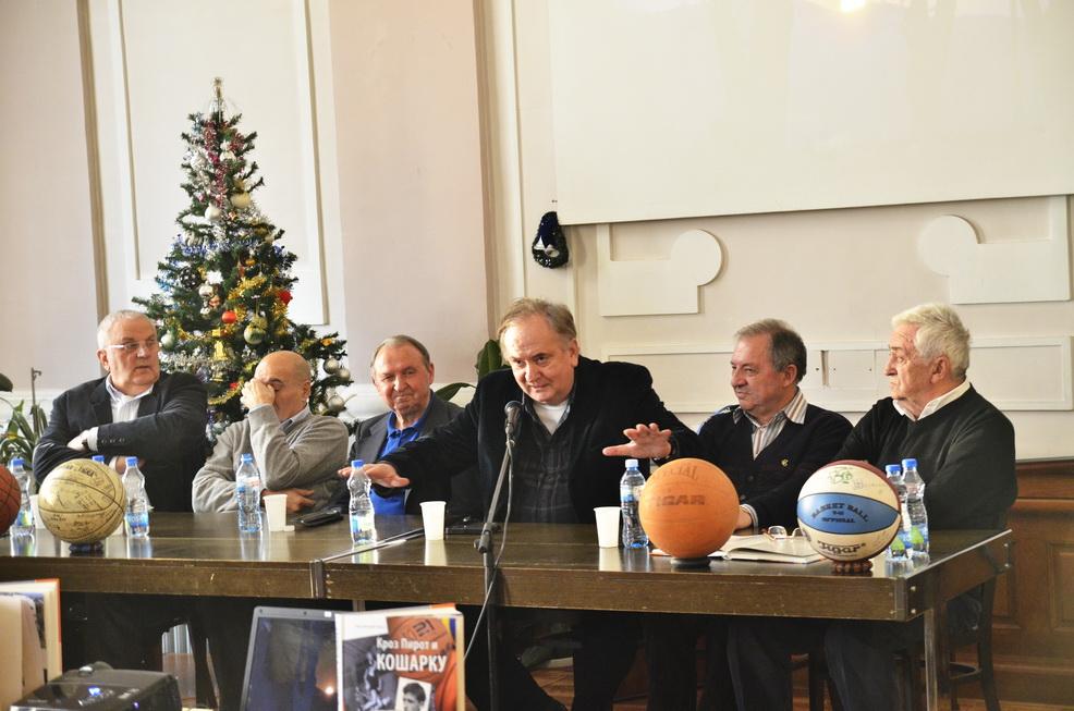 Photo of Košarkaški asovi na promociji Šerpine knjige