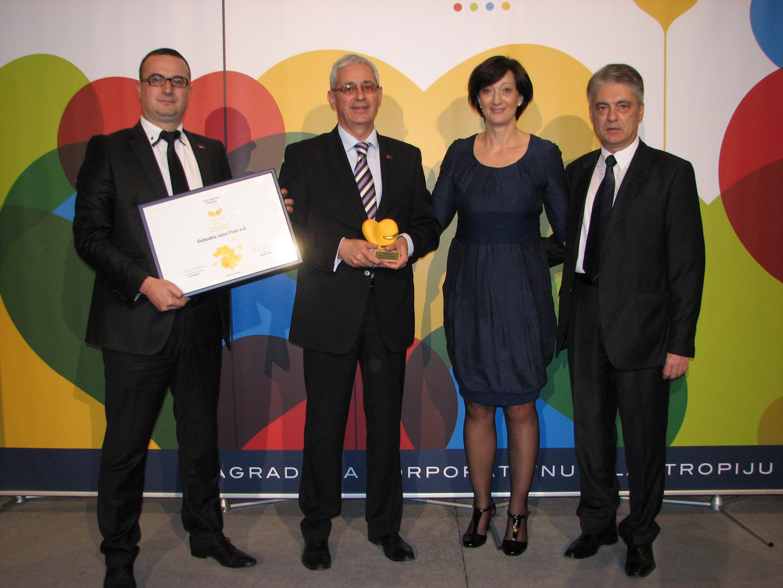 Photo of Slobodnoj zoni Pirot priznanje za razvoj filantropije
