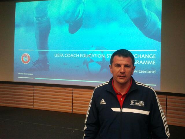 Photo of Jovan Stanković trener Krušika
