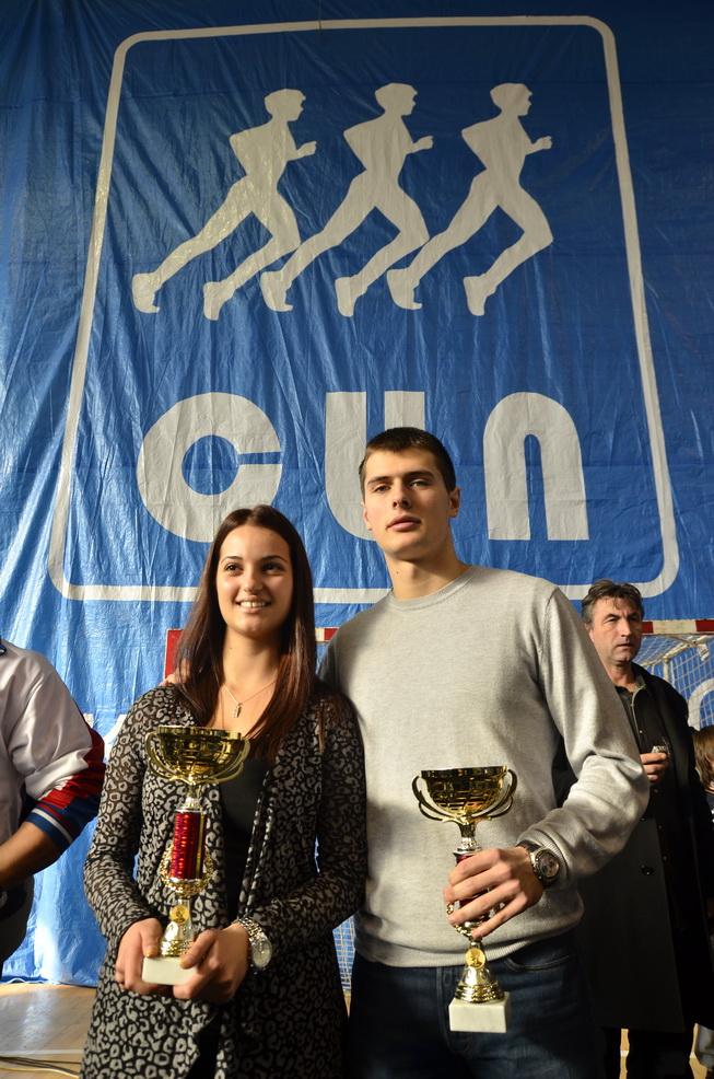 Najbolji pirotski sportisti - Tiha i Uroš