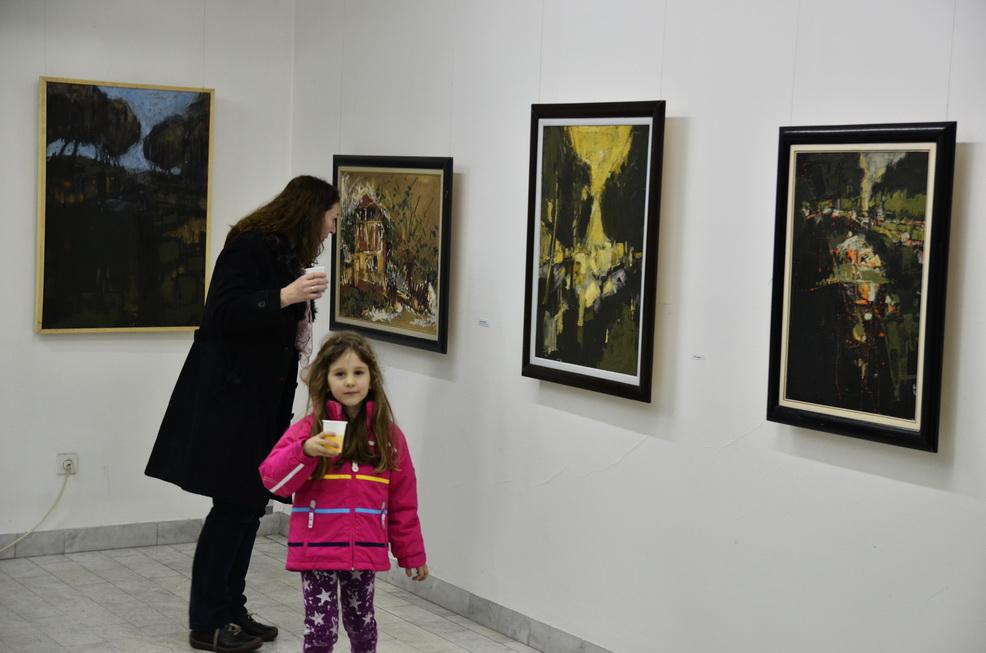 Photo of Izložba slika Đorđa Miloševića u galeriji