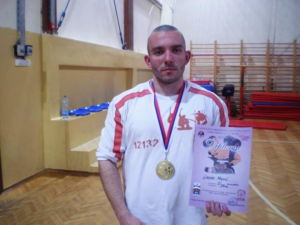 Photo of Zlatna medalja za Lazara Manića