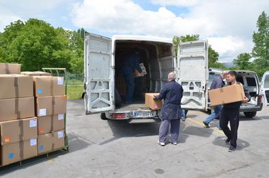 Photo of Donirano više od 17.000 pari čizama za spasioce