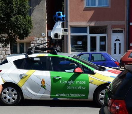 Google street view pirot