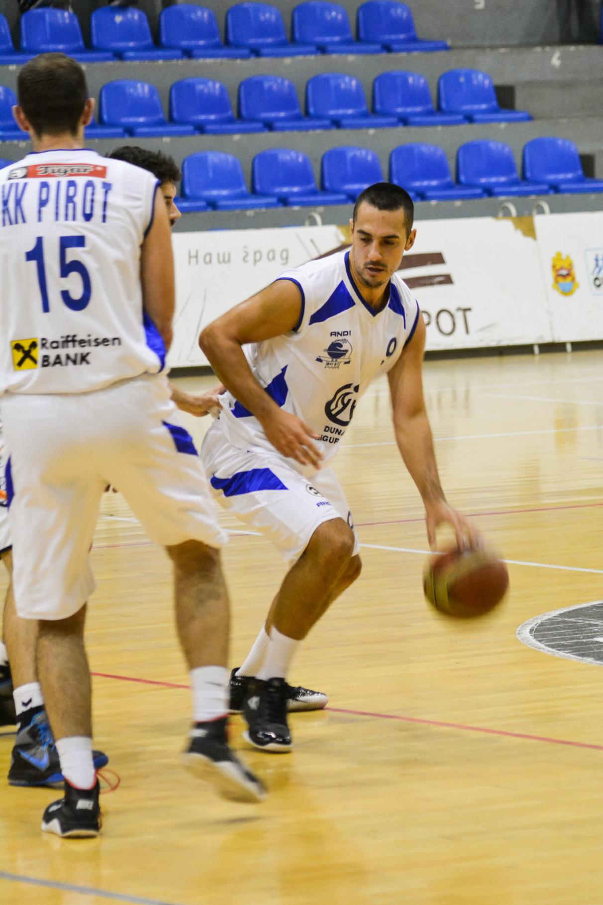 Lazar Rasic KK Pirot