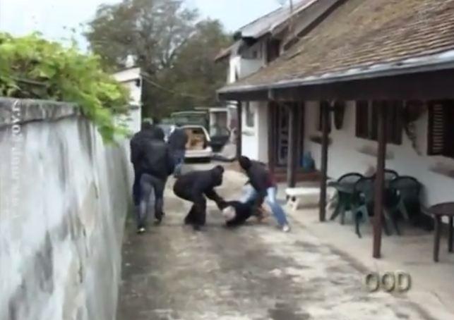 Trenutak hapšenja-snimak MUP Srbije