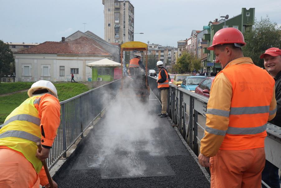 Photo of Danas gotova pešačka staza na Golemom mostu