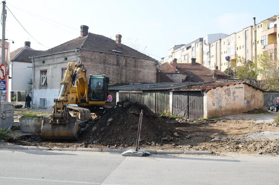 Photo of Počela izgradnja nove ulice i igrališta u centru grada