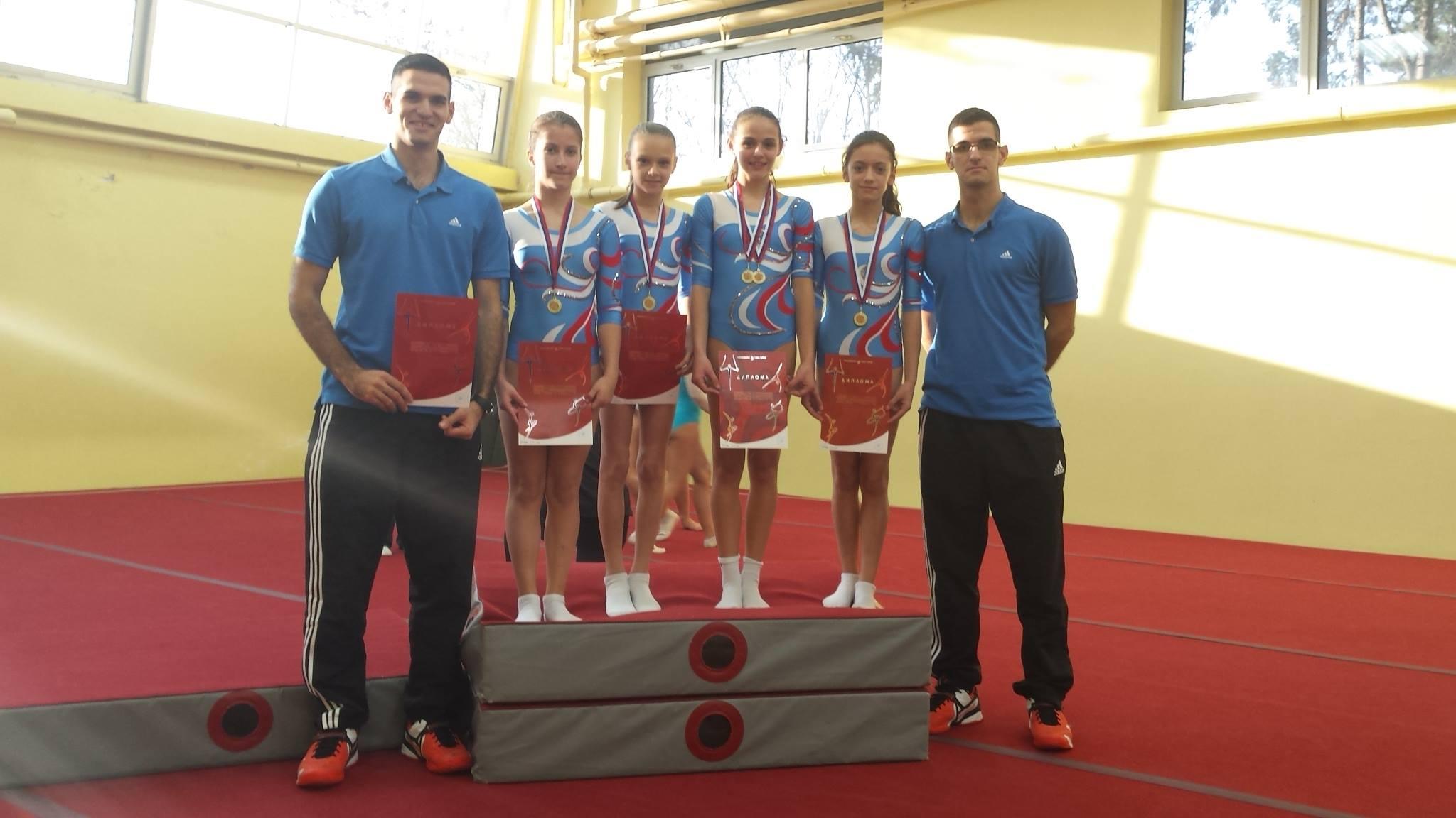 Photo of Gimnastičari doneli medalje u Pirot