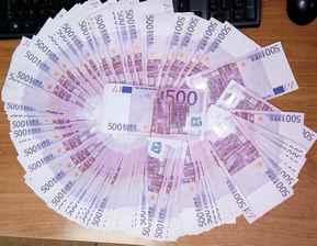 gradina zapljenjeni evri