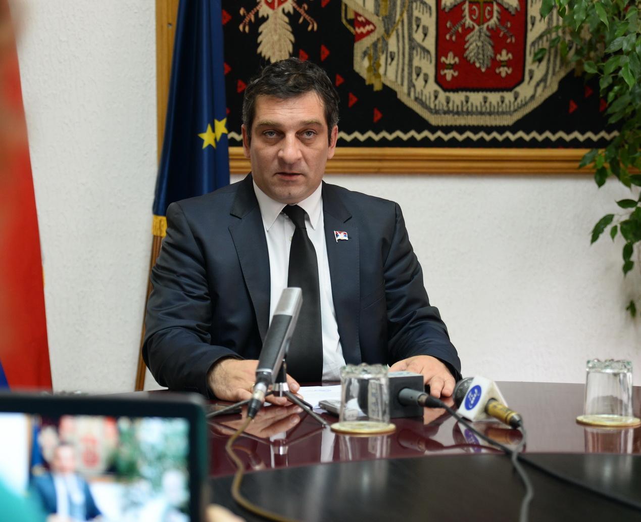 Photo of Načelnik Pirotskog okruga dr. Aleksandar S.  Ćirić podneo ostavku