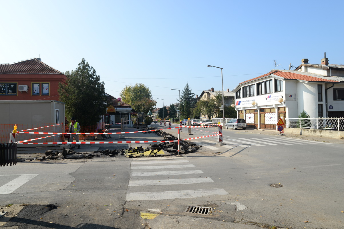 Photo of Obustava saobraćaja na raskrsnici Lava Tolstoja-Stevana Sremca