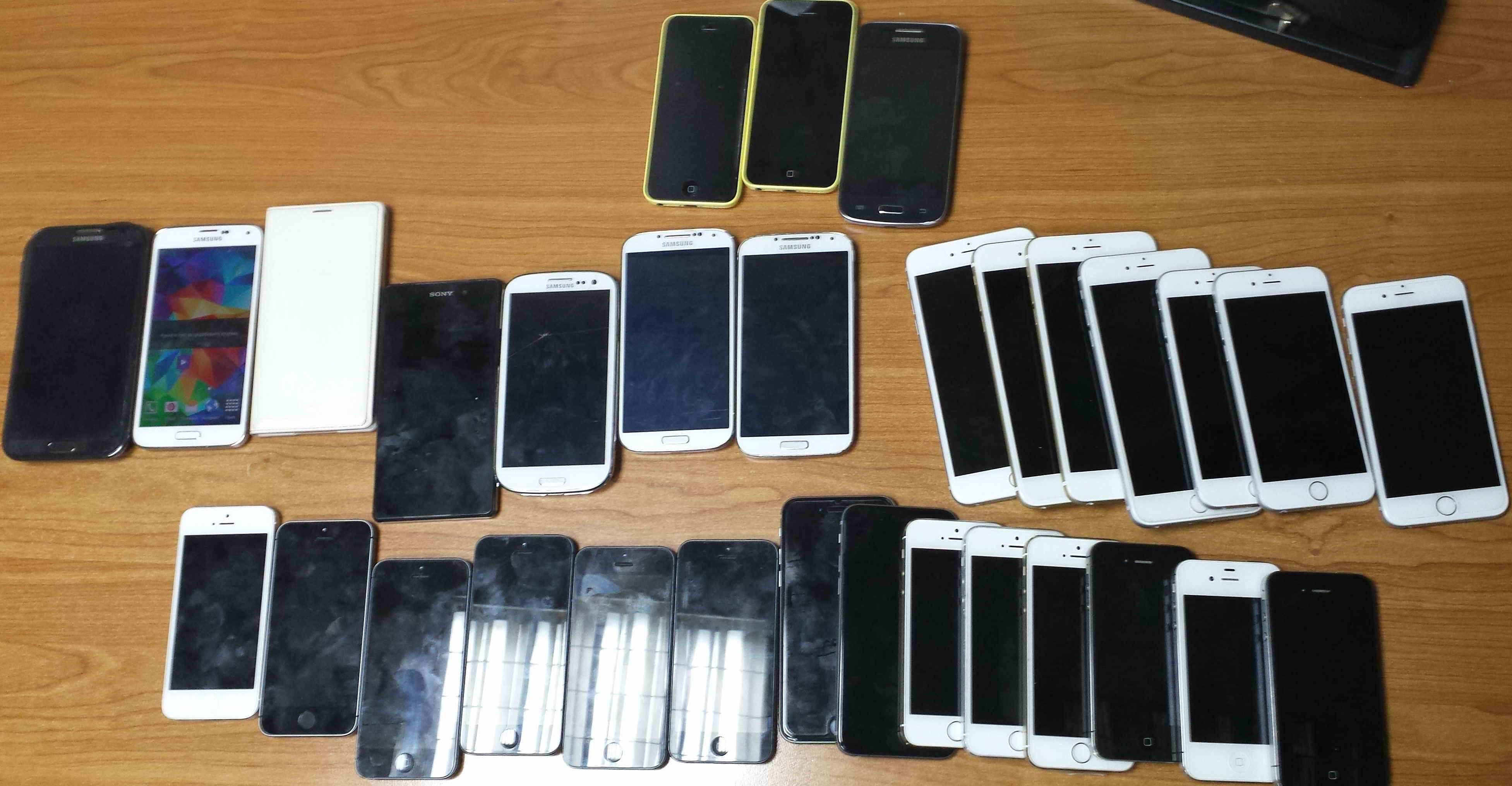 pokusaj krijumcarenja mobilnih telefona