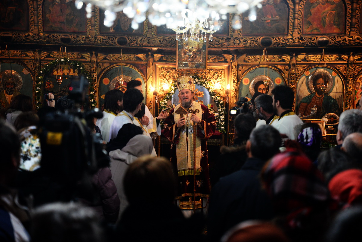 Photo of Vladika Jovan služio liturgiju u Pirotu