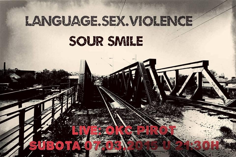 "Photo of ""Language, sex & violence"" u OKC"