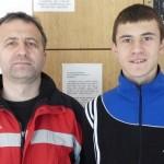 Dimitrije Kamenović u dresu mlade reprezentacije Srbije