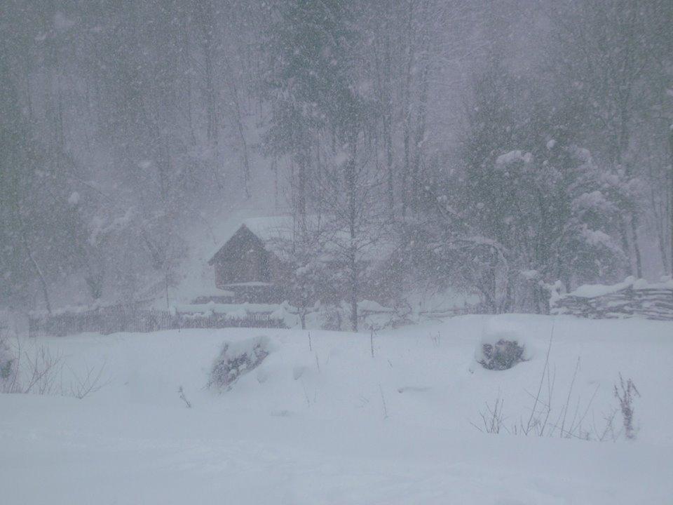 sneg padavine