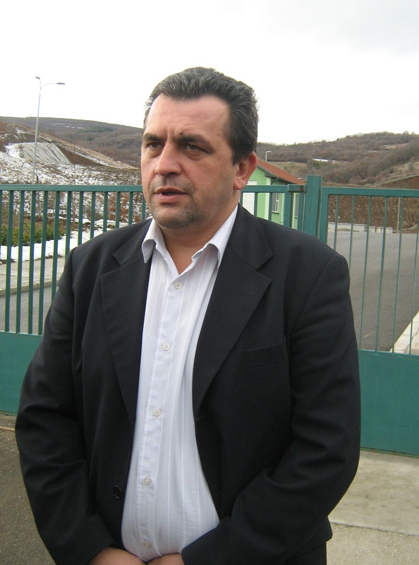 zoran satnkovic, direktor  sanitarne deponije