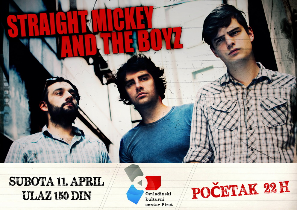 Photo of Straight Mickey And The Boyz večeras u OKC-u