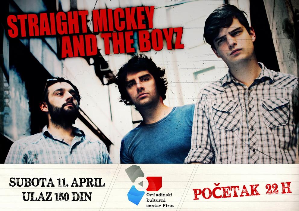 Photo of Straight Mickey And The Boyz večeras u OKC-u