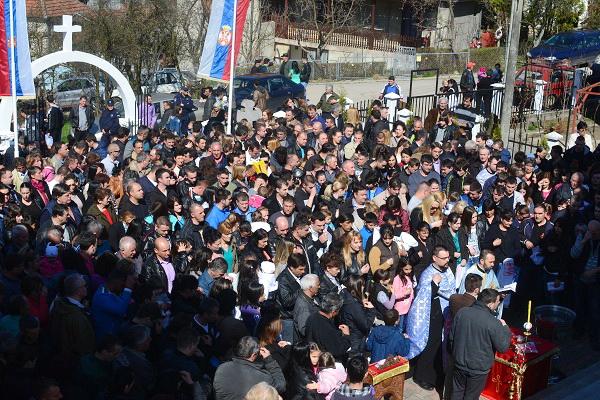 Photo of Крстило се 276 верника у Бабушници
