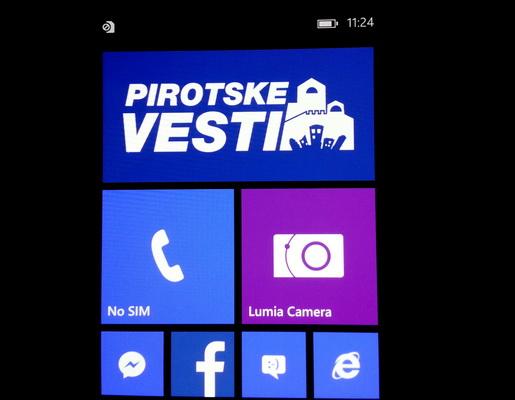 Photo of Pirotske vesti i na Windows phone platformi