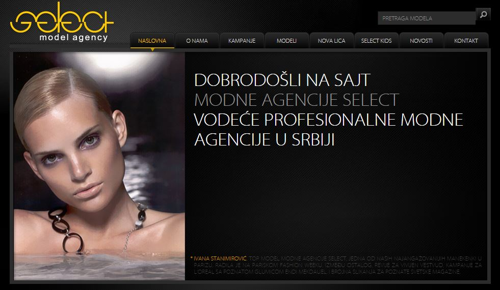 Photo of Agencija Select traži modele