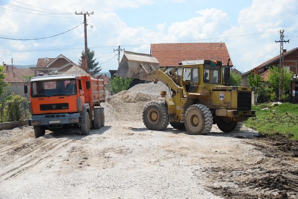 radovi bager kamioni