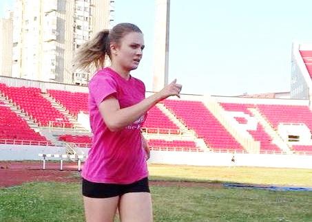 Photo of Anastasija Marinković prvakinja države u brzom hodanju