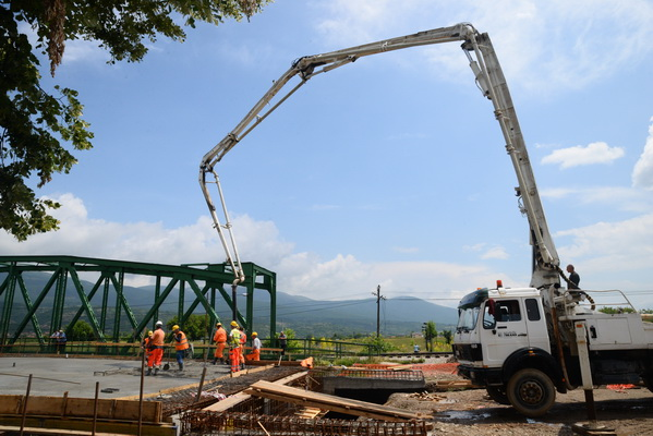 Photo of Počeli završni betonski radovi na mostu na Drugom ringu