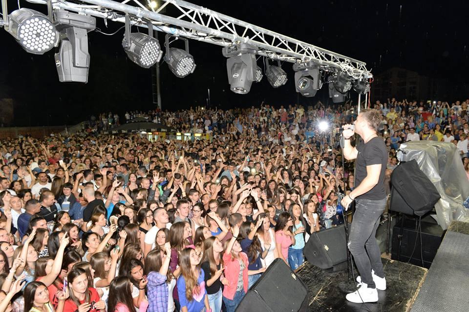 "Photo of Leksington bend ""zapalio"" Omladinski stadion"