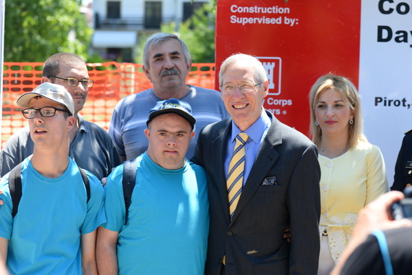 Photo of Kirbi i Vasić položili kamen temeljac za objekat vredan 400.000 dolara
