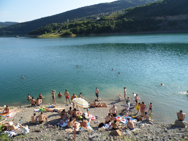 Photo of Zavojsko jezero: kao na moru
