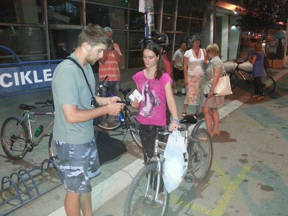 """Photo of Za veću bezbednost biciklista u """"Malom Šangaju"""""""