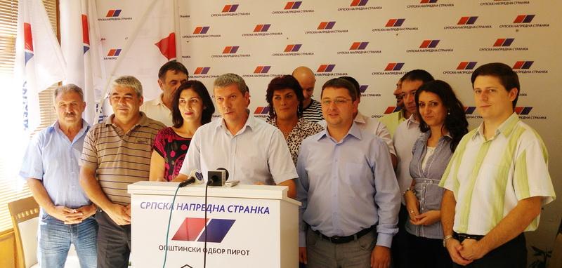 Photo of Vidanović:Prezentovaćemo ideje i tražiti podršku građana Pirota na lokalnim izborima