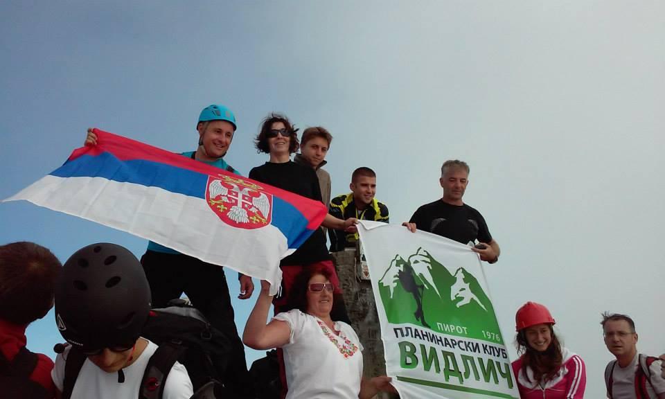 pirotski planinari na Olimpu