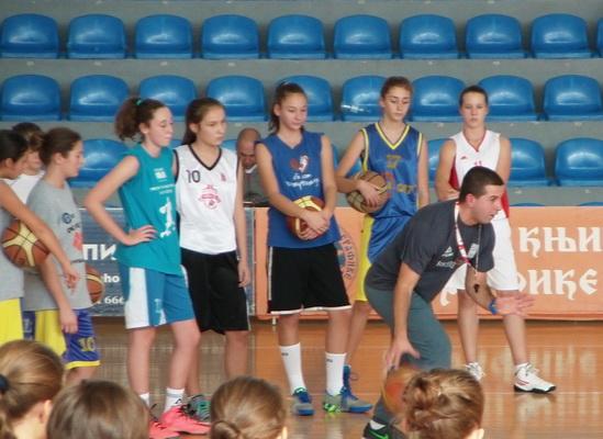 Photo of Kontrolni trening za košarkašice