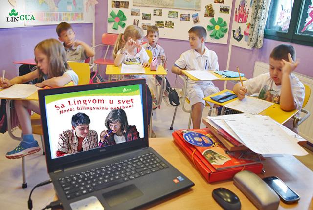 Photo of U Centru za jezike Lingua dvojezična nastava na engleskom i francuskom jeziku