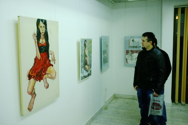 Photo of Izložba aktova Igora Krstića u Galeriji