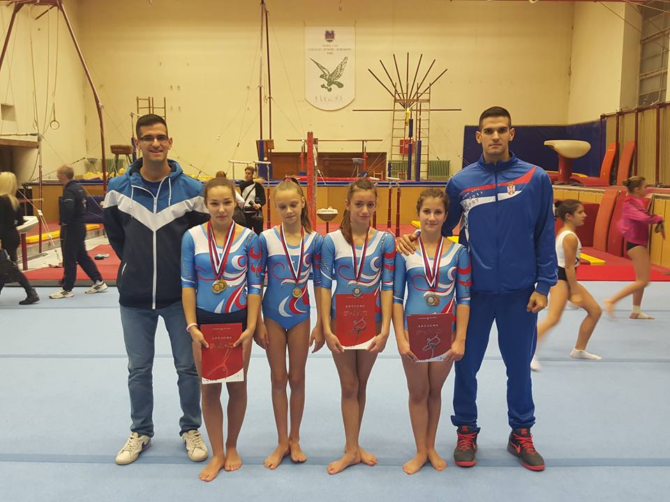 Photo of Nove medalje za gimnastičare