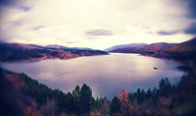 jesen zavojsko jezero
