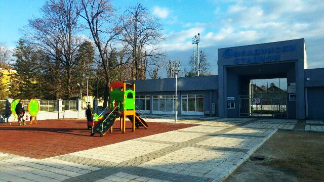Photo of Novo igralište na ulazu u Omladinski stadion
